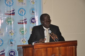 Capt William Amanhyia - Executive Secretary of the Ghana Institute of Freight Forwarders (GIFF)