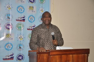 Mr. Abraham Mensah – General Manager, Operations, Ghana Ports and Harbours Authority (GPHA)